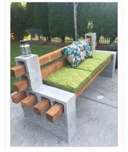 Cinder Block Patio Furniture by Cinder Block Patio Furniture Pictures To Pin On Pinterest