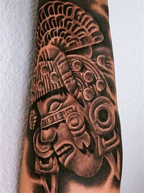 aztec tattoos history pictures design idea meaning and history of aztec