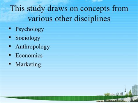 Mba Ppt On Marketing Concepts by Consumer Behaviour Ppt Bec Doms Bagalkot Mba Marketing