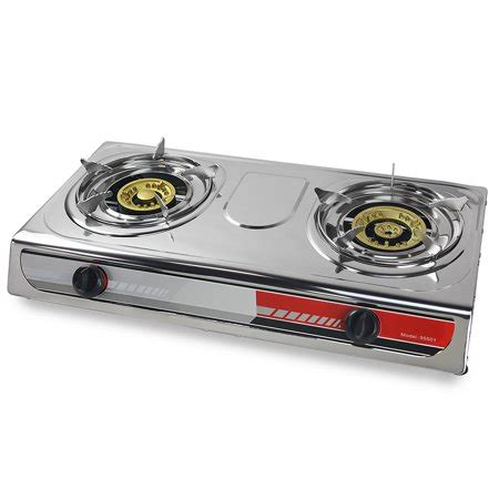 Outdoor Cooktop Propane by Xtremepowerus Portable Propane Gas Range 2 Burner Stove