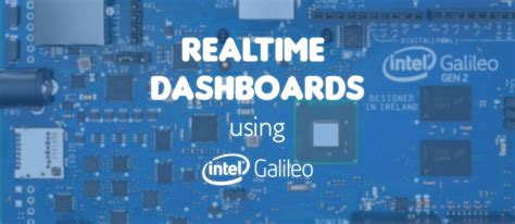 Create An Iot Realtime Dashboard With Intel Galileo Pubnub Iot Dashboard Template