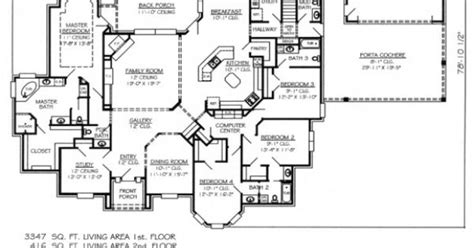 Panic Room Construction Plans by 5 Bedroom House Plans 1 Story Promising But Still Needs