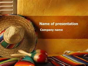 mexican themed powerpoint template tour to mexico powerpoint template backgrounds 09608