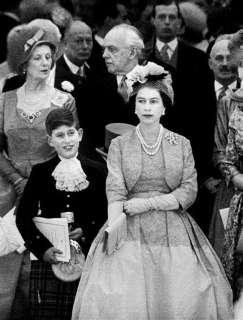 Queen Elizabeth II and son Prince Charles - amazing seeing
