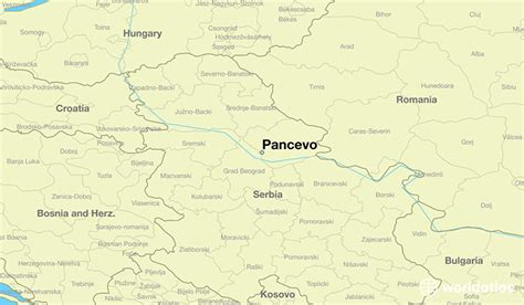 where is serbia located on the world map where is pancevo serbia where is pancevo serbia