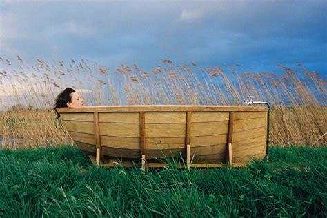 boat bathtub viking bath boat by wieki somers