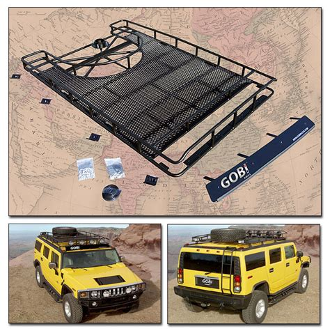 Warn Roof Rack by Warn Hummer H2 Light Bar 68499 Light Bars