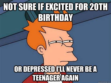 20th Birthday Meme - happy 20th birthday quotes funny
