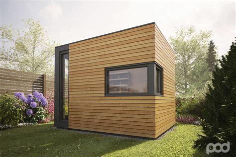 modern eco pod tiny house by pod space pod space garden prefab getaways prefab cabins