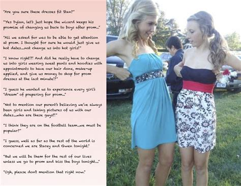 Forced Crossdressing For Prom Captions | forced crossdressing for prom captions