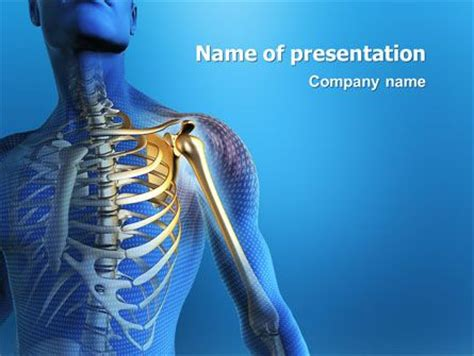 bone powerpoint template templates presentation templates and bone jewelry on