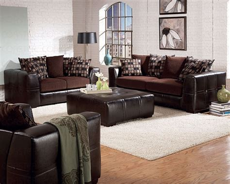 Ken Sofa Set by Kenneth 2 Sofa Set In A Two Tone Cover Combination