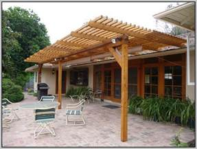 How To Build A Wood Patio Cover by Patio Covers Kits Wood Patios Home Design Ideas