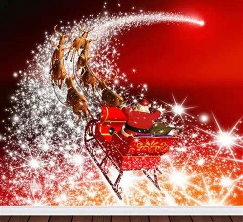 2018 santa claus christmas vinyl spray backdrop computer