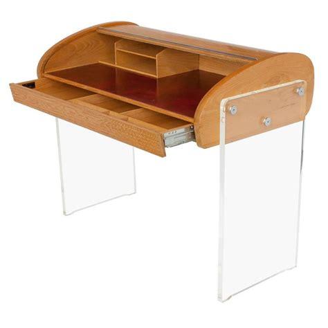 Writing Desk Roll Top by Vladimir Kagan Roll Top Writing Desk At 1stdibs