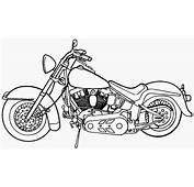 Los Dibujos Para Colorear  De Motocicletas