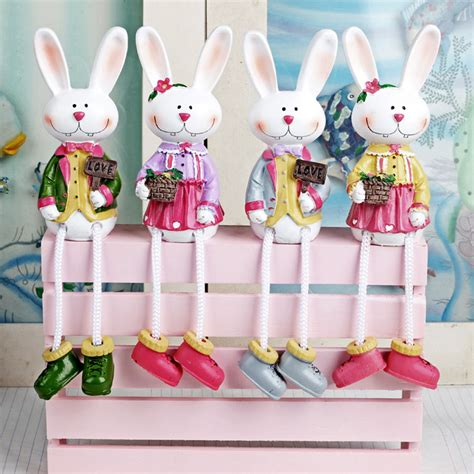Handmade Decorations To Sell - sell rabbit doll hanging resin craft