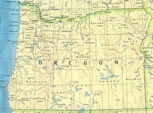Detailed Map Of Oregon by Detailed Map Of Oregon State Oregon State Detailed Map