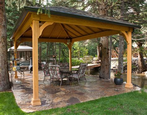 Backyard Pavilion Plans Ideas 110 Gazebo Designs Amp Ideas Wood Vinyl Octagon
