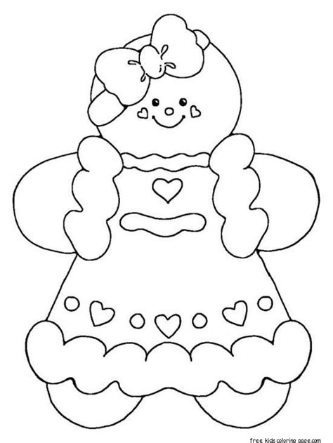 printable gingerbread man coloring sheets printable gingerbread man coloring pages for kidsfree