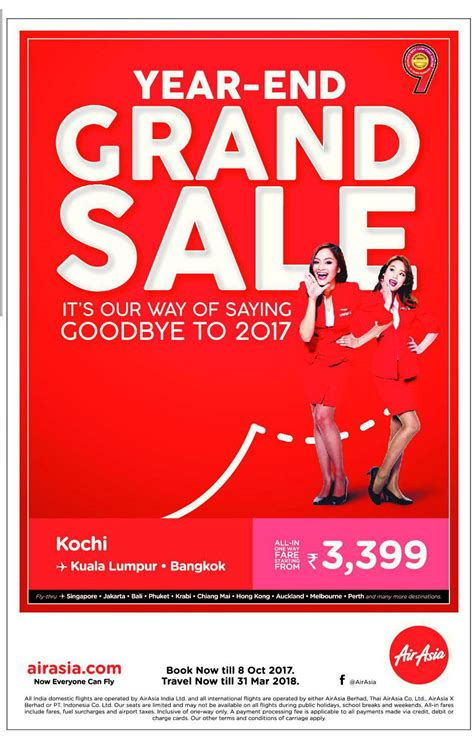 airasia year end sale air asia year end grand sale its our way of saying goodbye