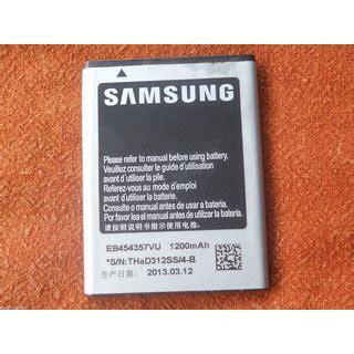 Samsung Battery Eb454357vu Original original samsung battery eb454357vu for s5300 s5360