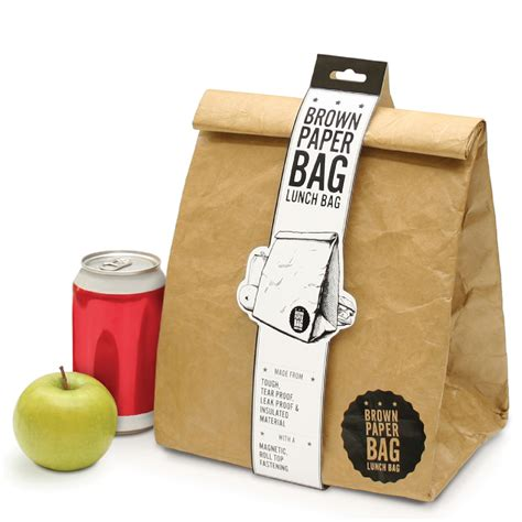 How To Make A Paper Lunch Bag - brown paper bag insulated lunch bag traditional gifts