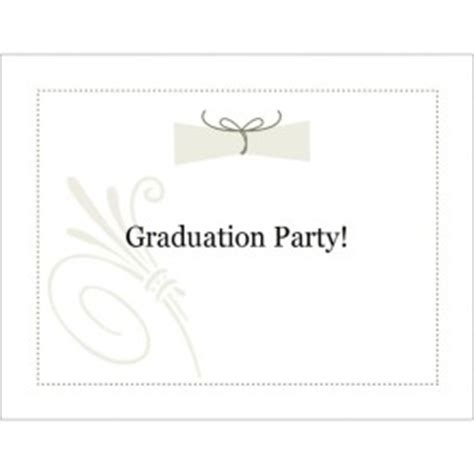 Graduation Note Cards Template