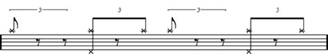 drum pattern left right left left learn how to play the basic jazz drumming pattern