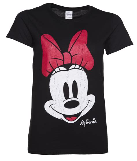 s black disney vintage distressed minnie mouse t shirt