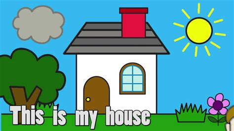 draw my house my house talking flashcards youtube