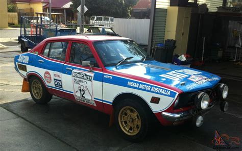 datsun car datsun rally car pb210 hrc cams log book historic in vic