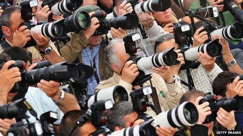 Press And Media Photographer On Photographer Calls For Paparazzi To Take Part In Leveson News