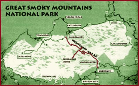 great smoky mountains national park map smoky mountains history american patriot getaways