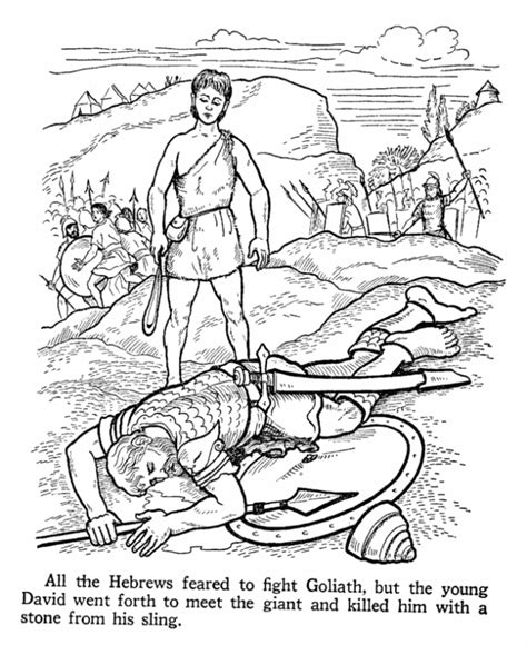 Bible Coloring Pages Bible Coloring Pages David Kids Bible David Color Photos