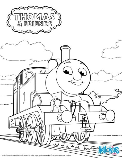 thomas coloring pages free printable thomas the tank engine coloring pages hellokids com
