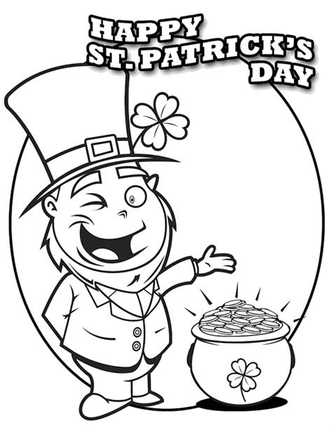 St Patricks Day Coloring Pages Dr Odd St Patricks Coloring Pages
