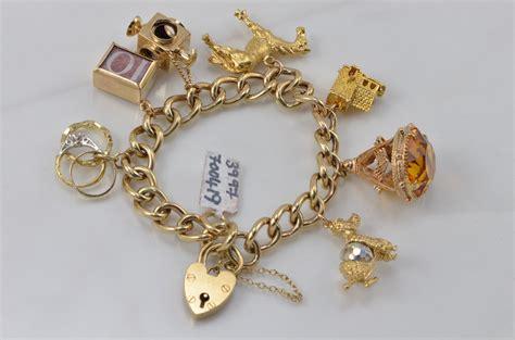 33 most amazing gold charm bracelets eternity jewelry