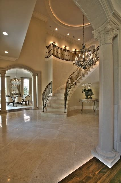 dreams homes interior design luxury beautiful stairs greenbrier foyer traditional entry dallas by isler