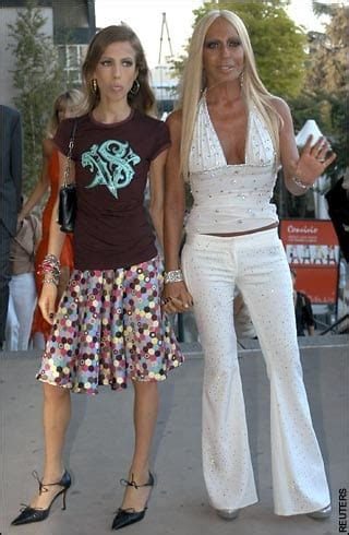 versace heiress's battle with anorexia telegraph