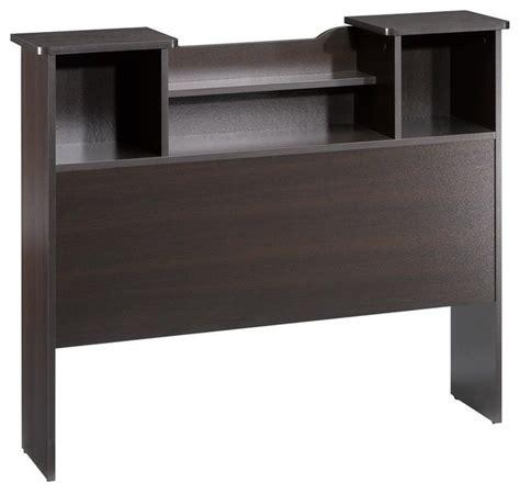 nexera pocono size bookcase headboard contemporary