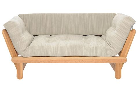 single futon sofa bed cute single divan wooden sofabed in oak futon company