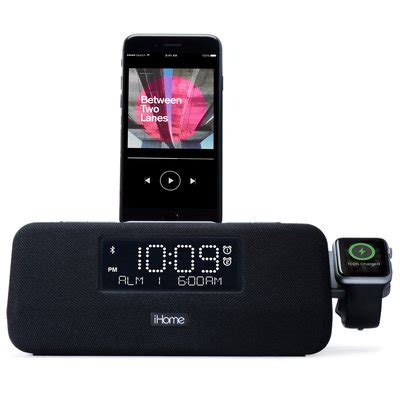 ihome iplwbt docking clock radio  charger