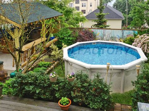 backyard landscaping above ground pool nice backyard pool landscaping ideas landscaping and outdoor nurani