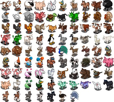 Where All The Animals image allanimals png farmville wiki seeds animals