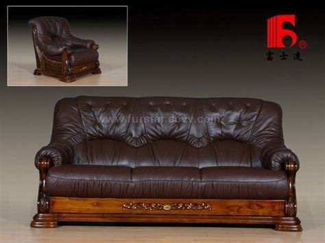 leather wood sofa beautiful leather and wood sofa sofas