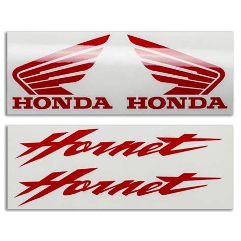 Honda Hornet Tank Stickers