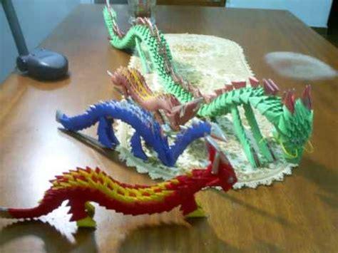3d origami dragon tutorial youtube como hacer origami 3d dragon imagui