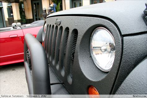 Spray In Liner For Jeep Wrangler Jeep Wrangler Sprayed With Bedliner Benlevy