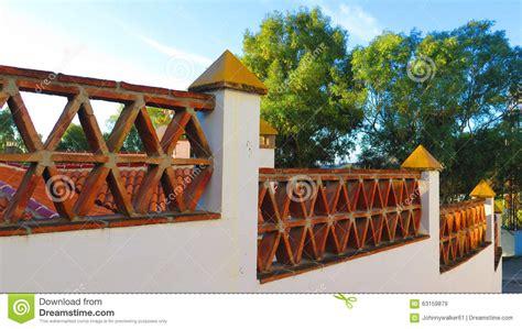 decorative bricks for garden walls decorative garden wall stock photo image 63159879